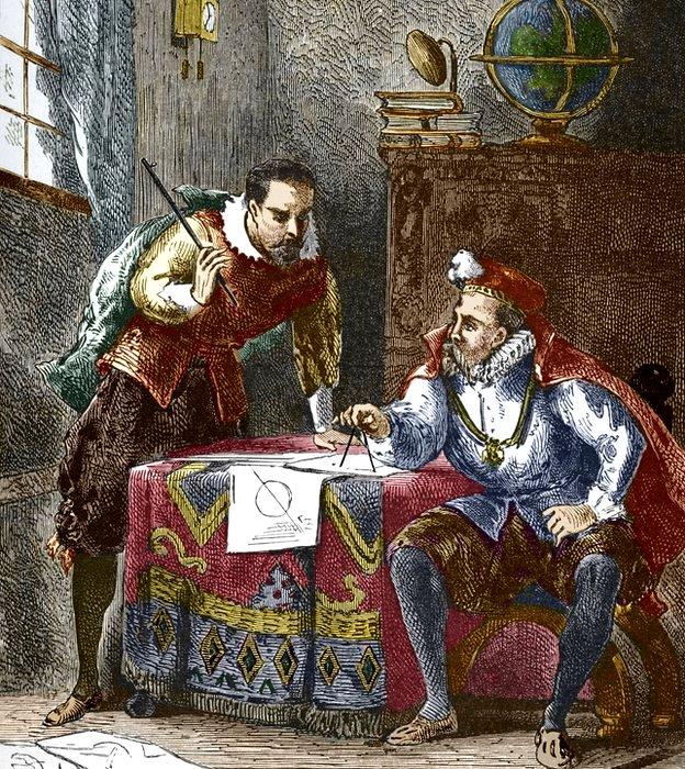 Aunque Kepler quería usar todos los datos que Brahe había recabado, el noble astrónomo no le daba acceso.