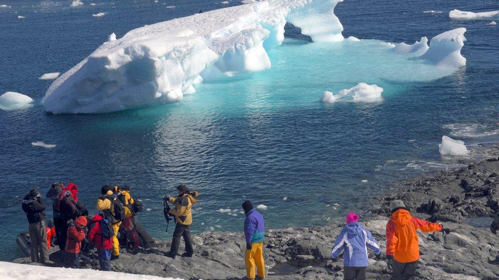 En general, el número de turistas está aumentando.
