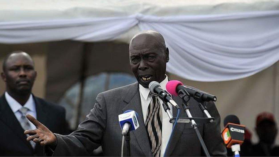Un ancien chef d'État condamné pour expropriation foncière au Kenya