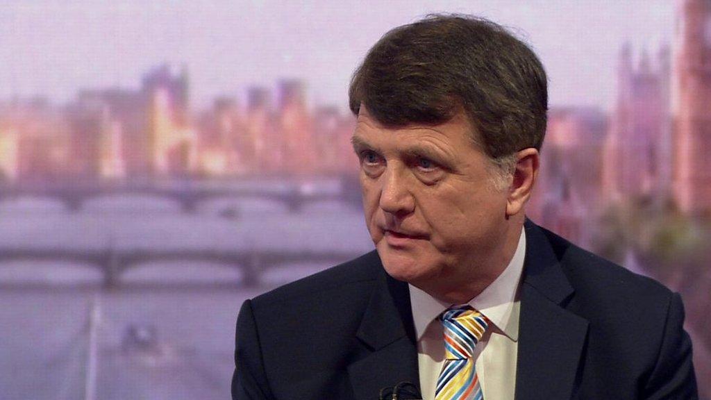 Gerard Batten: Tommy Robinson 'not far right'
