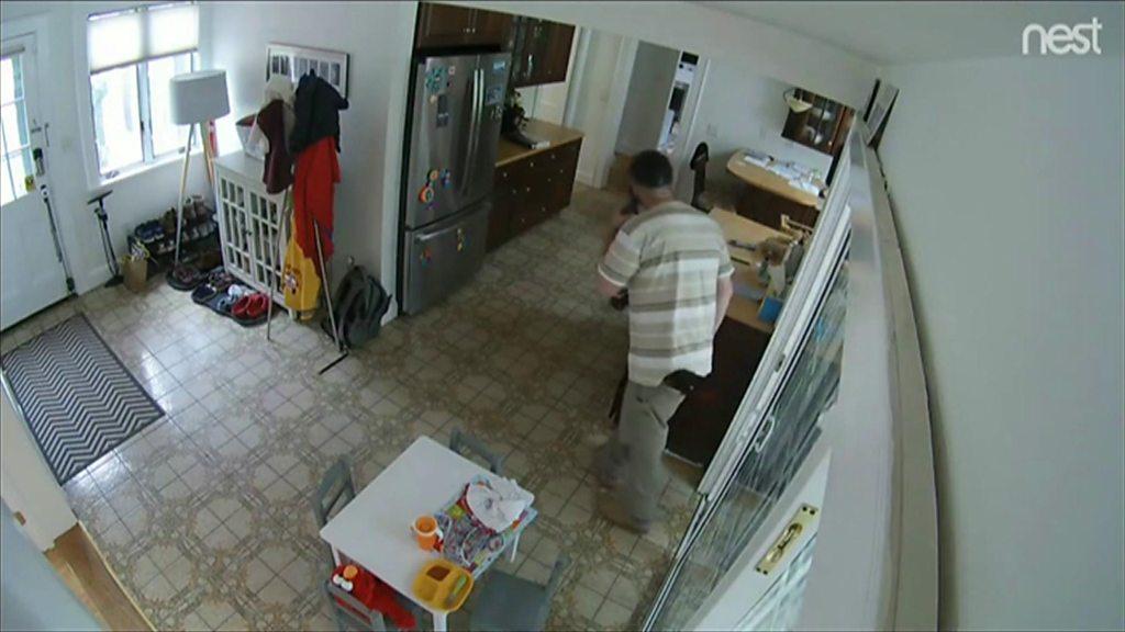 US man keeps dog safely inside house he burgles
