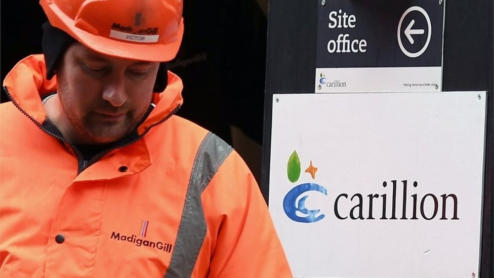 Carillion: Support for small firms ends in 48 hour
