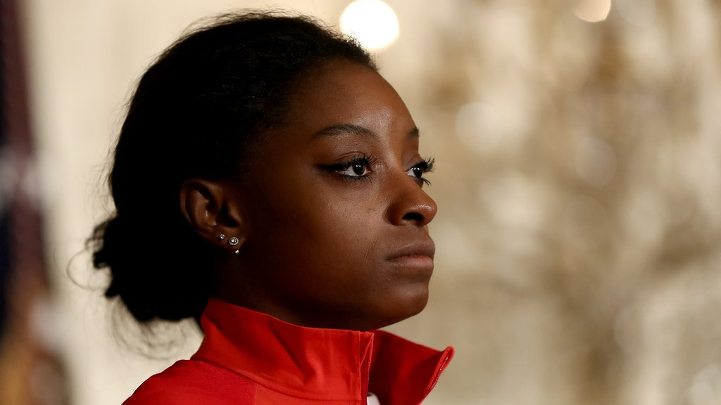 Biles 'abused by gymnastics doctor'