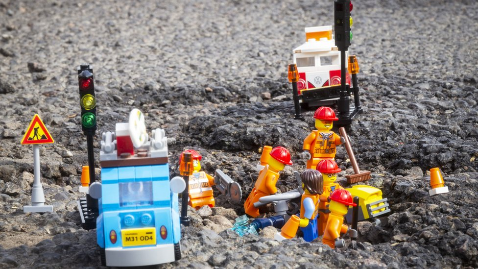 Pothole problems: Call to fix Welsh roads before building new ones