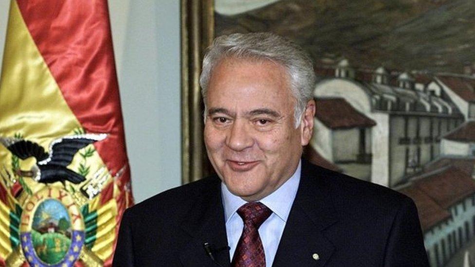 Gonzalo Sánchez de Lozada