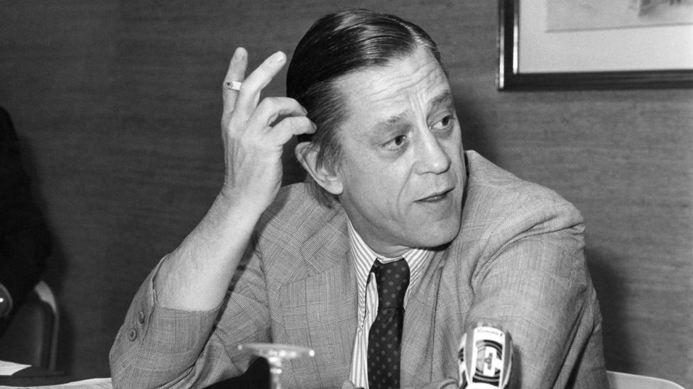 Ben Bradlee, editor de The Washington Post en los años 70