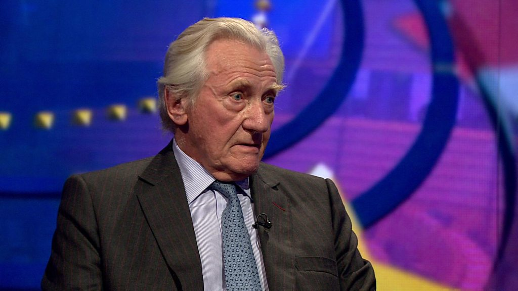 Lord Heseltine: Brexit Britain relinquishes power