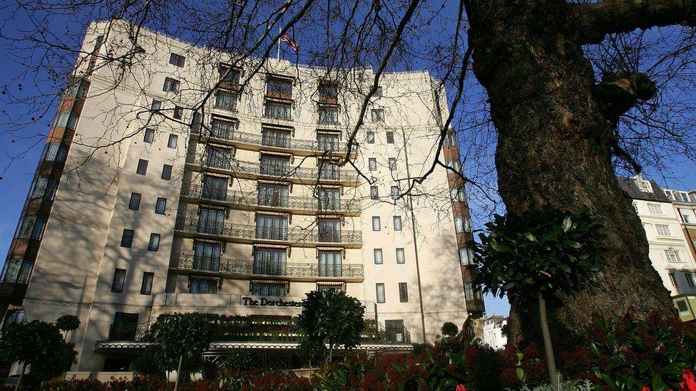 Hotel Dorchester de Londres.