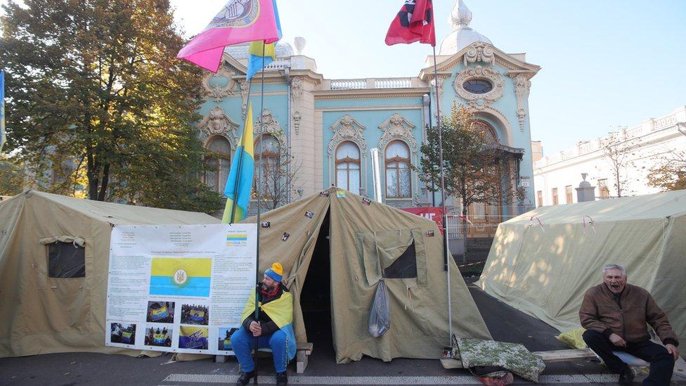 Намети під Радою: чи почався Майдан-3?