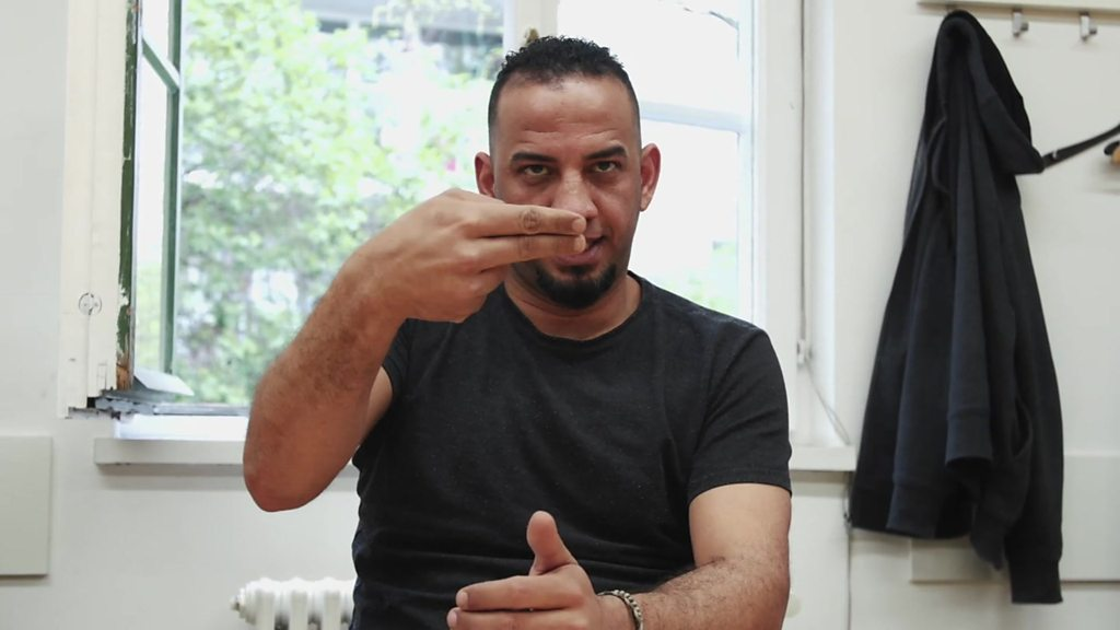 Crossing Divides: Austrian group helps deaf refugees learn sign language