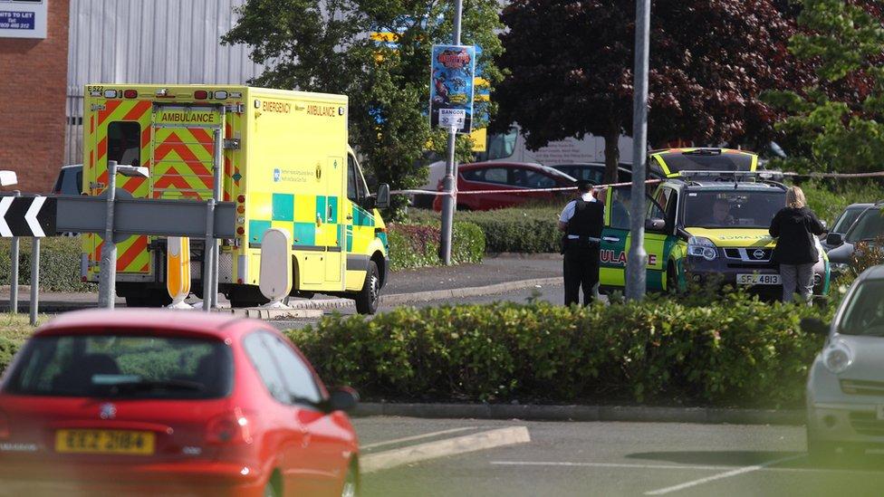 Man dies after being shot in Bangor supermarket car park
