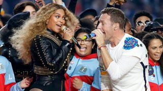 How Beyonce stole the show at Super Bowl
