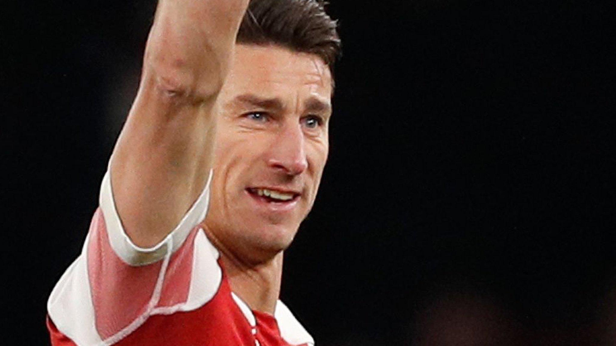 Arsenal: Europa League return for Laurent Koscielny is 'start of new chapter'