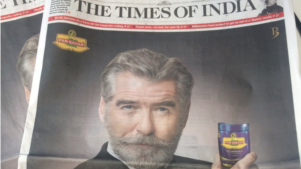 Pierce Brosnan demands removal of his image from India ad