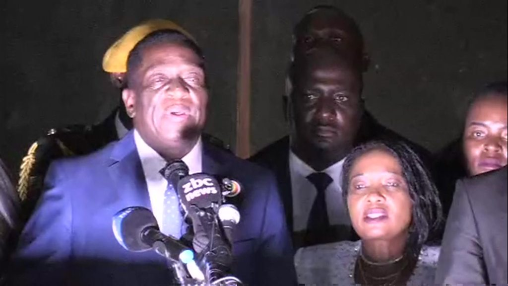 Mnangagwa: We want to grow Zimbabwe economy