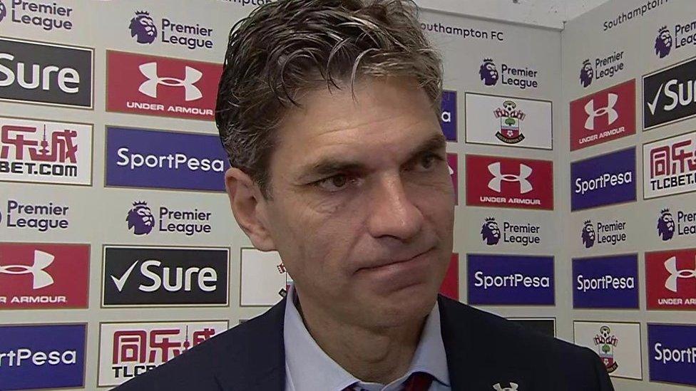 Southampton 0-1 Man Utd: Saints controlled game despite defeat - Mauricio Pellegrino