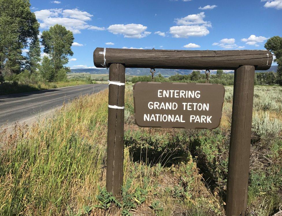 Más de 700.000 personas visitaron el Parque Nacional de Grand Teton en julio pasado.