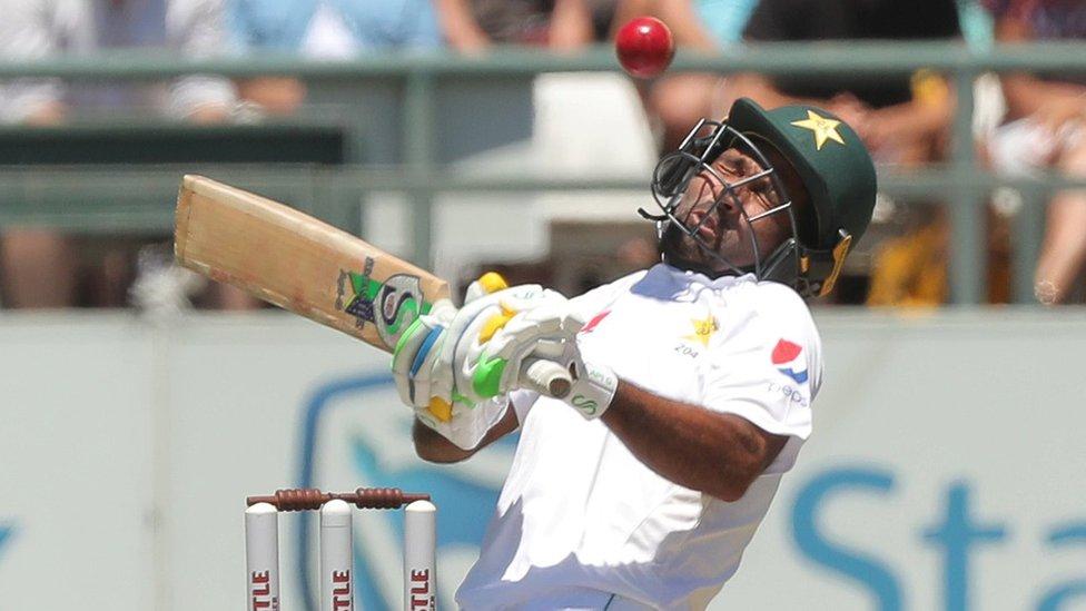 پاکستان بمقابلہ جنوبی افریقہ: 'یہ پاکستانی بیٹنگ ہے یا ایرانی سینیما؟'