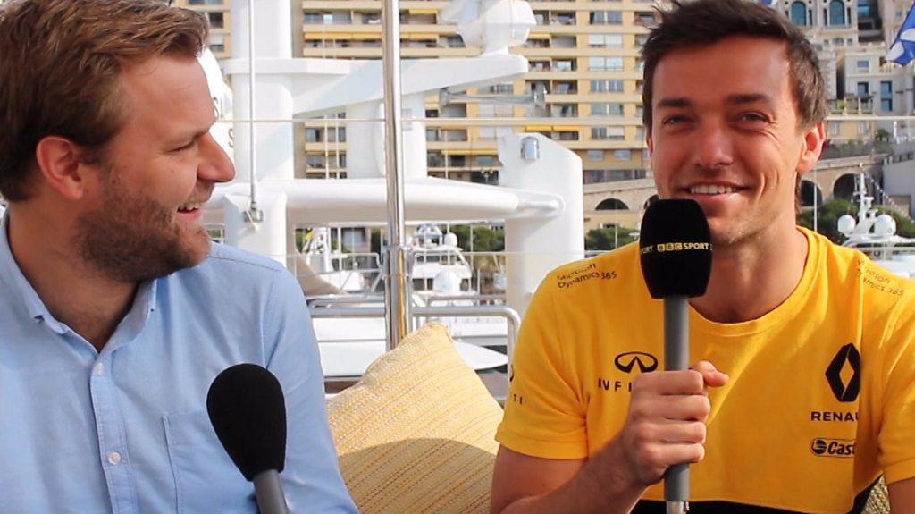 Monaco Grand Prix: Jolyon Palmer on Monaco's glamour and Crystal Palace