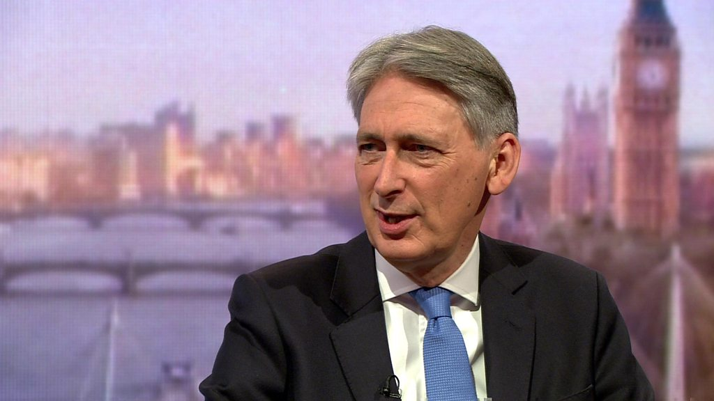 Philip Hammond says there are 'no unemployed people'