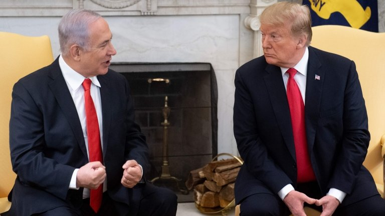 I will name a Golan town after Trump, says Israel's Netanyahu