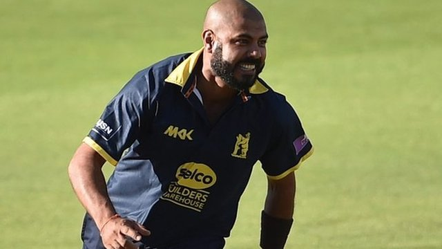 One-Day Cup: Warwickshires Jeetan Patel bowls side to semi-final win over Somerset