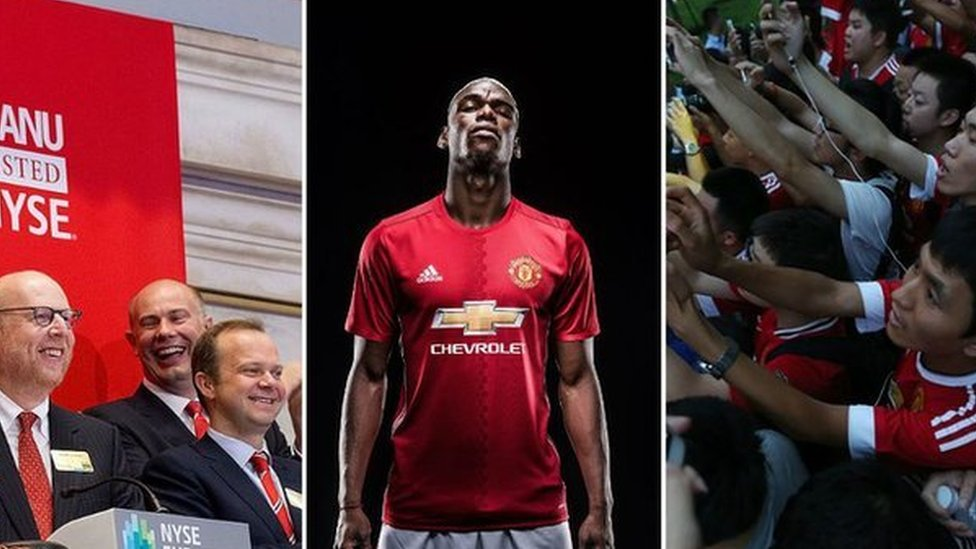 Man Utd overtake Real at top of record-breaking rich list