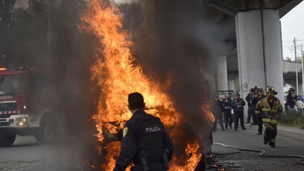 Fuego en Ciudad de México