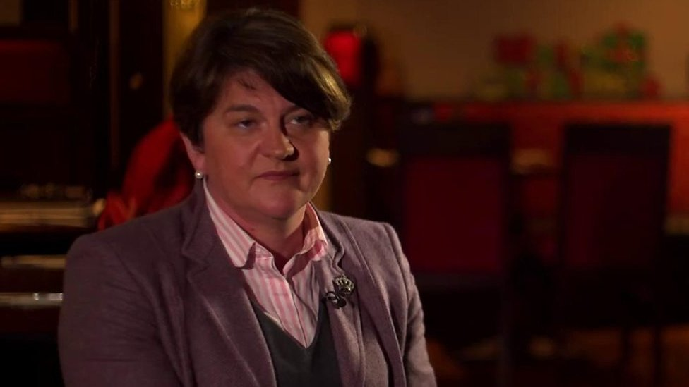 Arlene Foster says PM has given up on 'better deal' but 'I have not'
