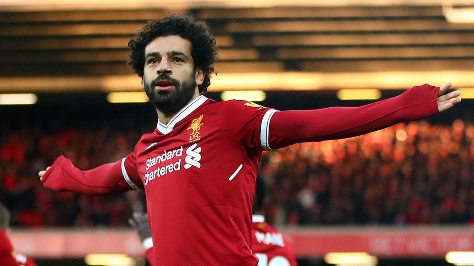 محمد صلاح: أحلم بالفوز بالدوري الإنجليزي مع ليفربول