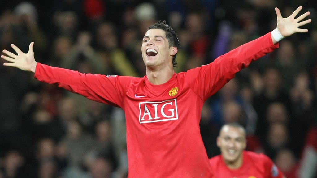 Cristiano Ronaldo: Throwback to his first hat-trick
