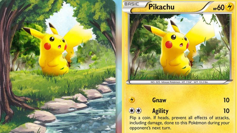 The Pokemon card artist 'taking the border off the artwork'
