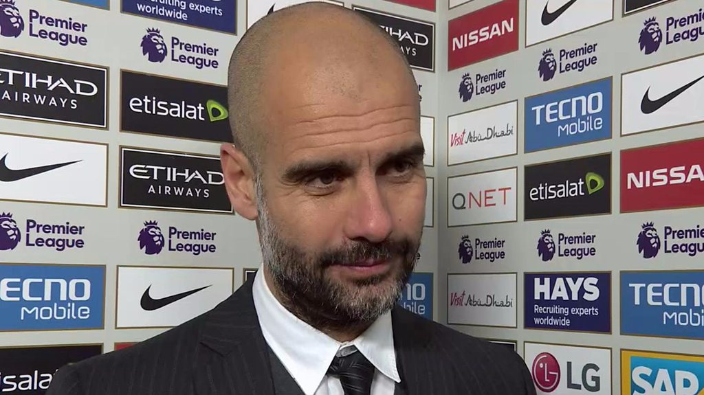 Man City 1-3 Chelsea: Late red cards were a pity - Pep Guardiola