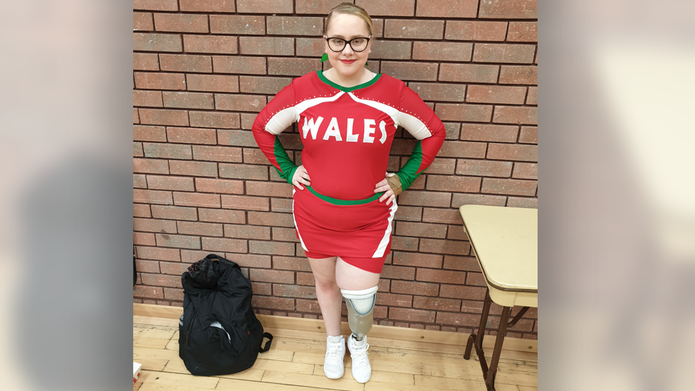 Welsh cheerleader: 'Amputation was best decision I made'