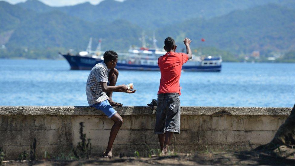 El agua embotellada es el principal producto de exportación por valor de Fiji.