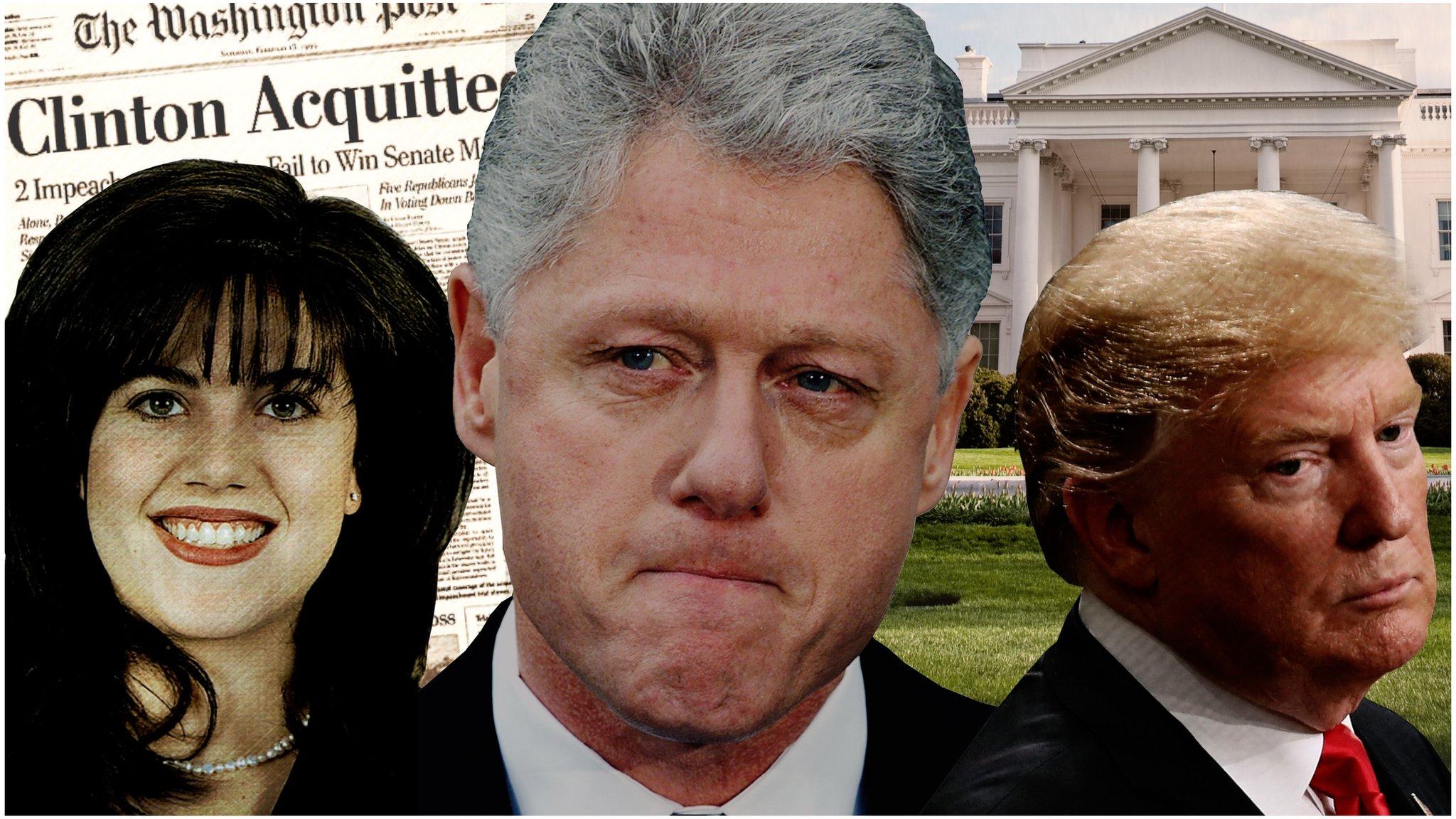 Por Qué El Escándalo Sexual Entre Bill Clinton Y Monica Lewinsky Facilitó La Elección De Donald Trump Bbc News Mundo