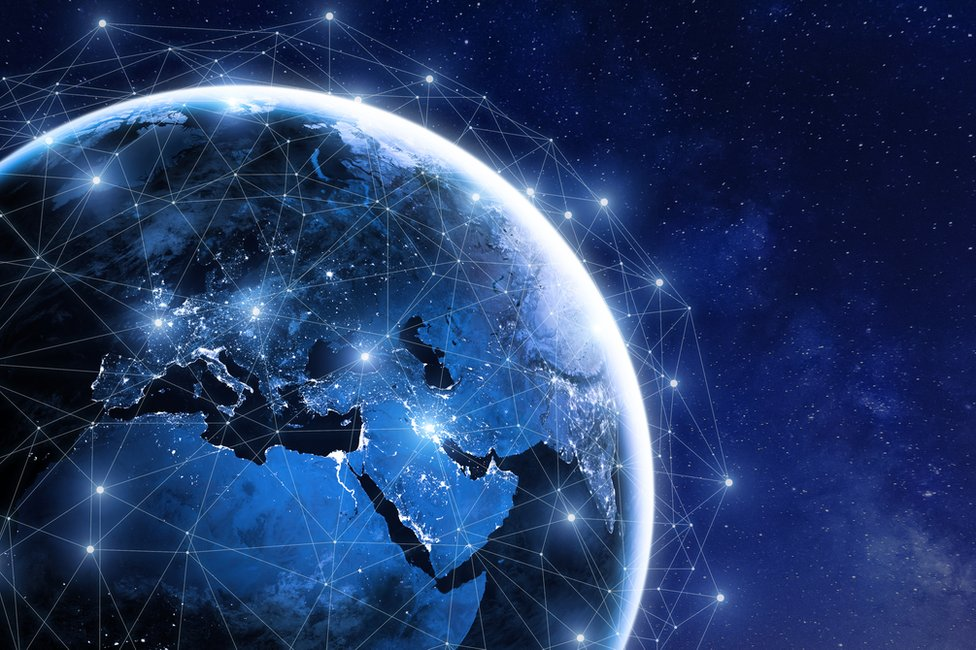 Planeta interconectado.