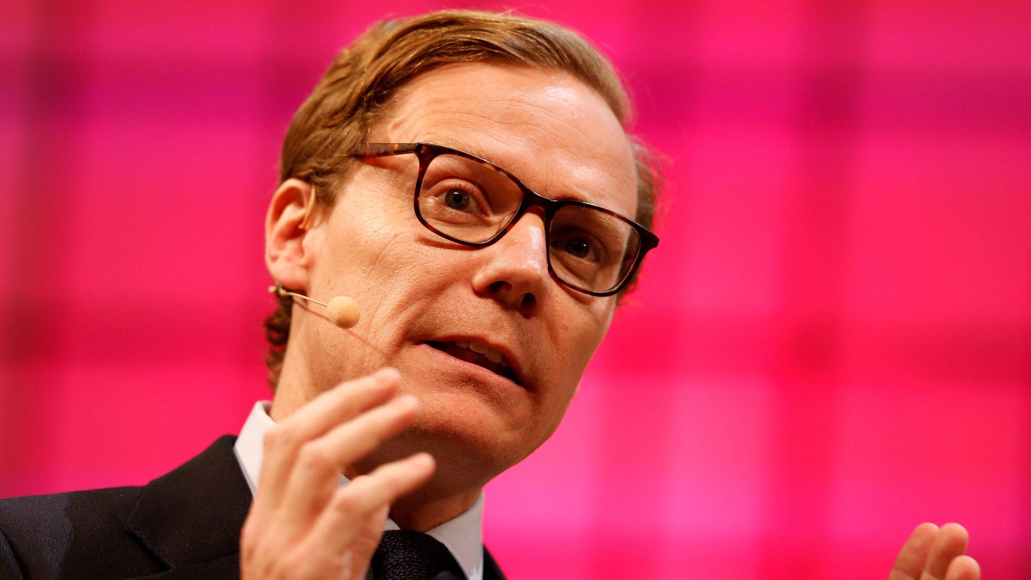 Cambridge Analytica: MPs recall suspended chief Alexander Nix