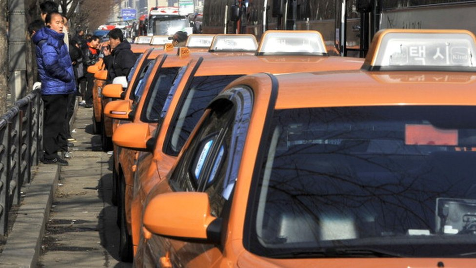 South Korean capital gets 'first deaf taxi drivers'
