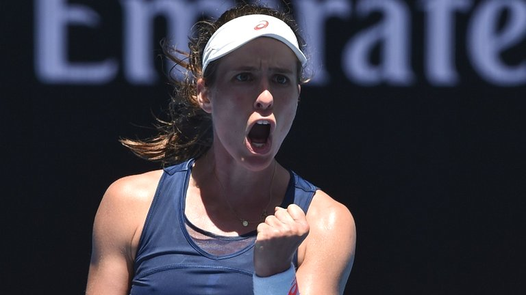 Confident Konta shows her quality but Edmund loses