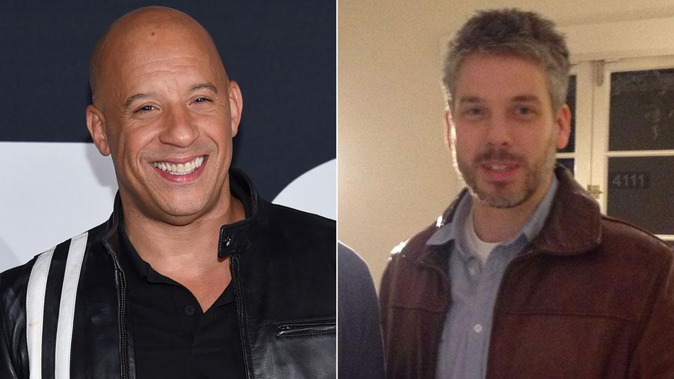 Vin Diesel y Paul Vincent
