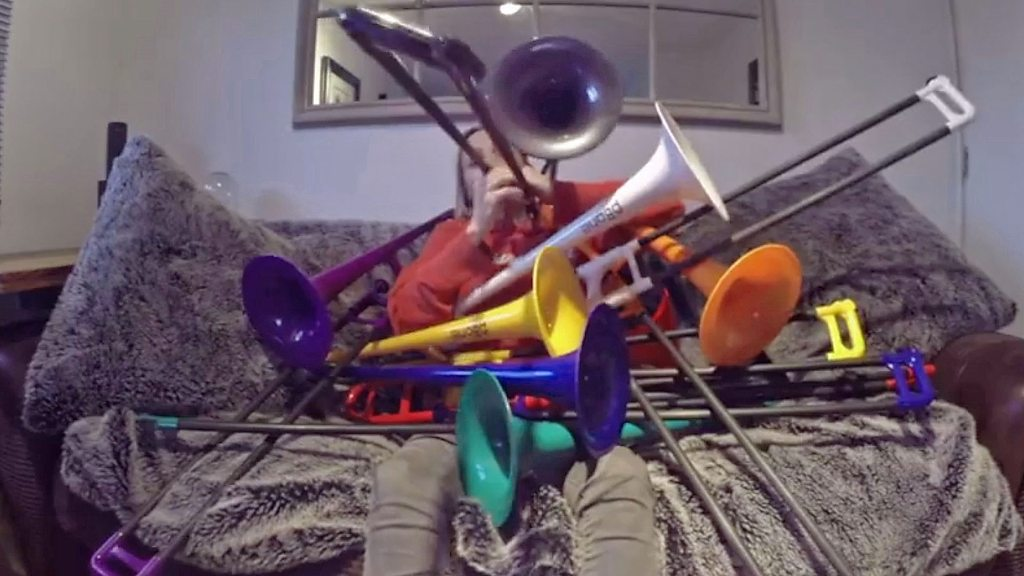 Joining forces to help ill trombonist