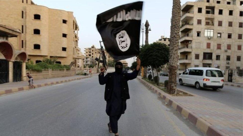 علم تنظيم الدولة الإسلامية