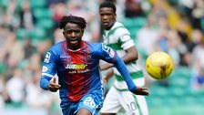 Inverness Caledonian Thistle player Andrea Mbuyi-Mutombo