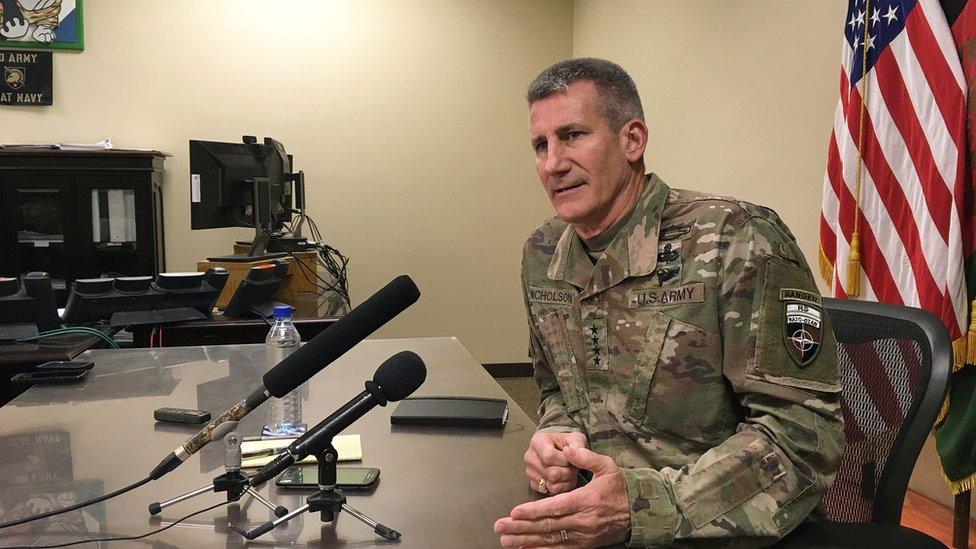 جنرال نېکلسن: پر طالبانو ټولنيز او پوځي فشار زياتوو