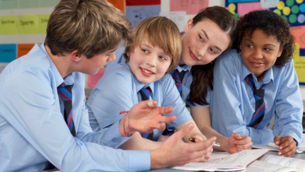 White British pupils 'lag behind peers'