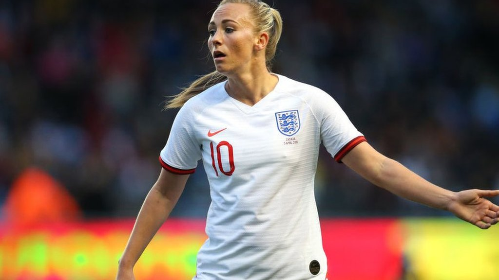 Toni Duggan: England forward ready to return for World Cup game with Japan