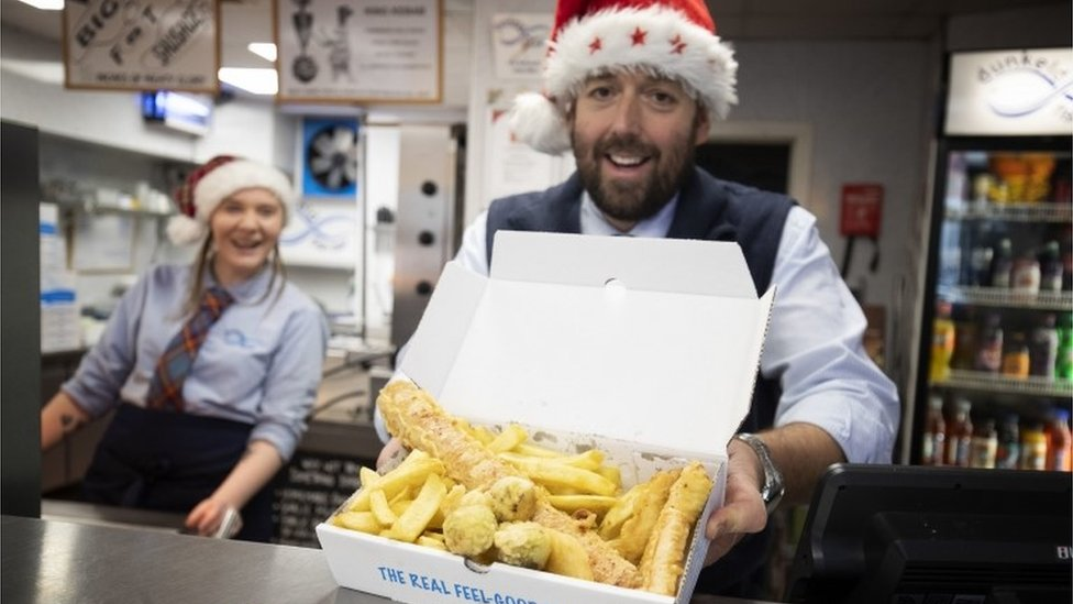 Dunkeld chippy offers deep-fried Christmas dinner
