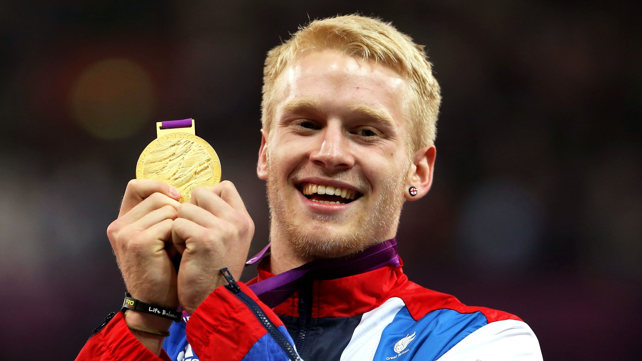 Rio 2016: Jonnie Peacock in ParalympicsGB track and field team