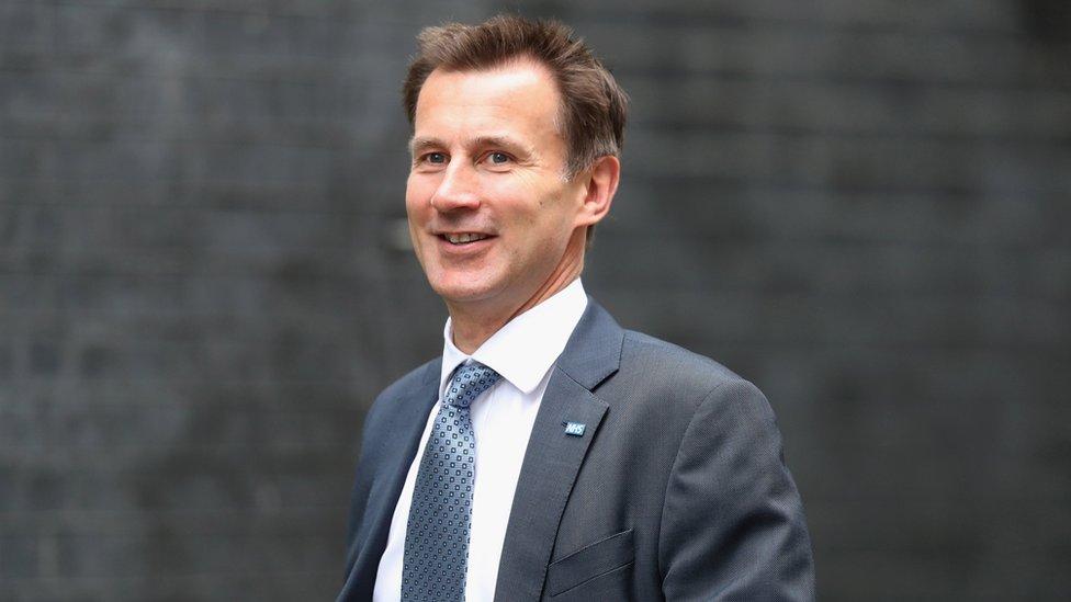 Jeremy Hunt suggests second EU referendum